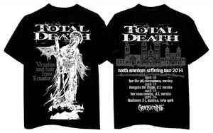 "Image of TOTAL DEATH ""North American Suffering tour"" 2014"