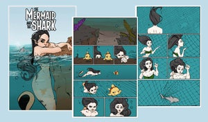Image of The Mermaid and the Shark comic #1