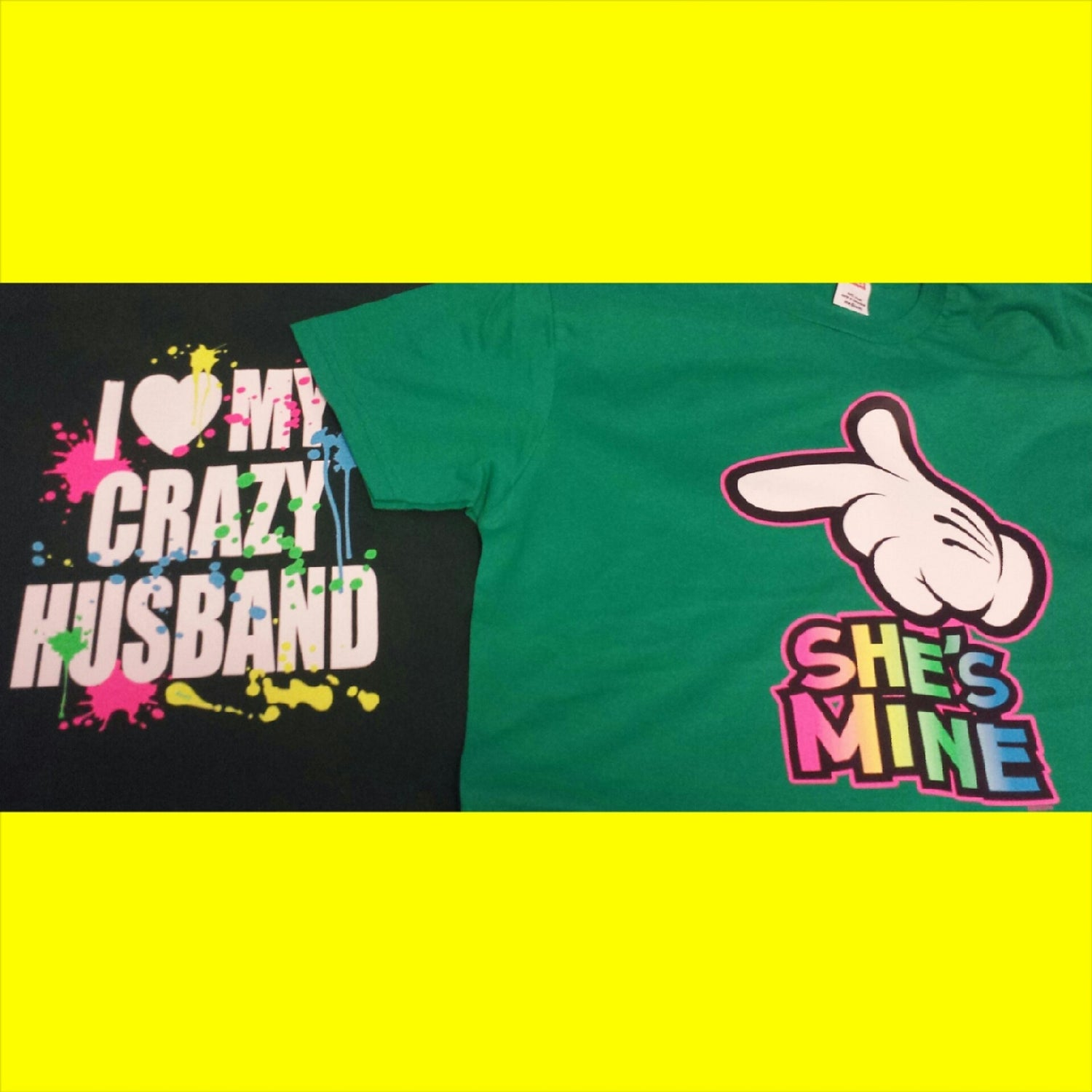 Image of She's Mines/Crazy Husband Combo