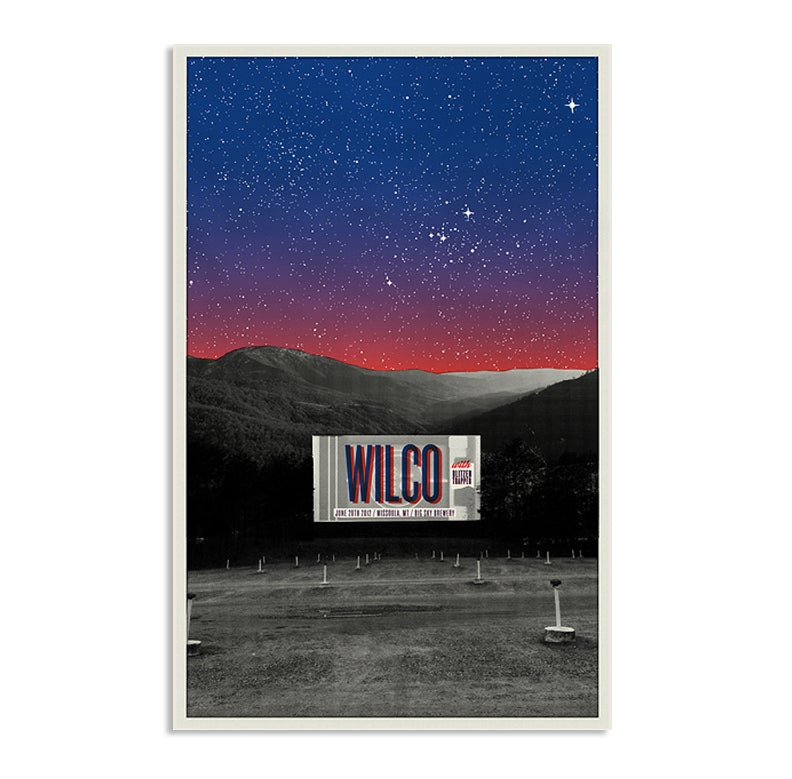 Wilco at the Drive-In, Missoula Montana