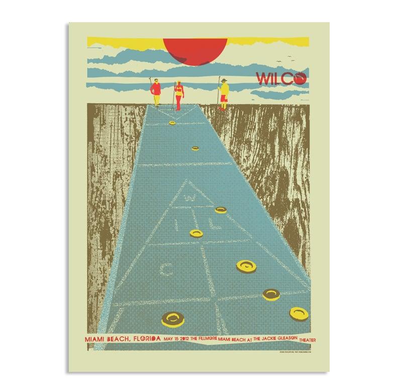 Wilco Miami Poster