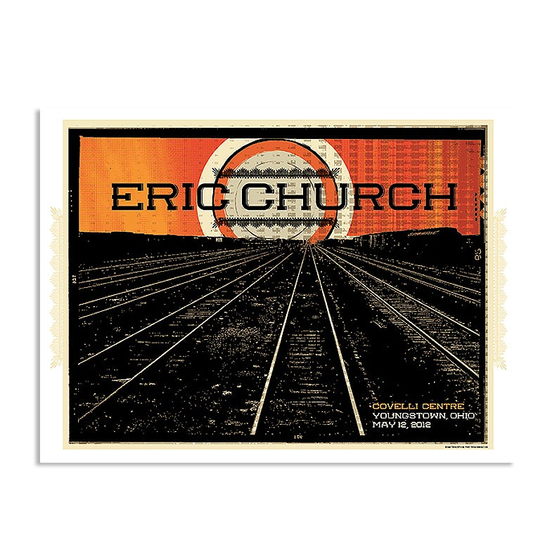 Image of Eric Church Youngstown, OH