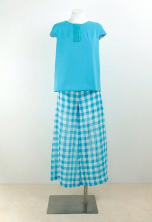 Image of TOP + CULOTTE PANTS