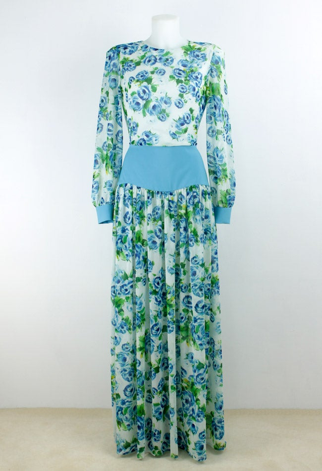 Image of FLOWERS MAXI DRESS
