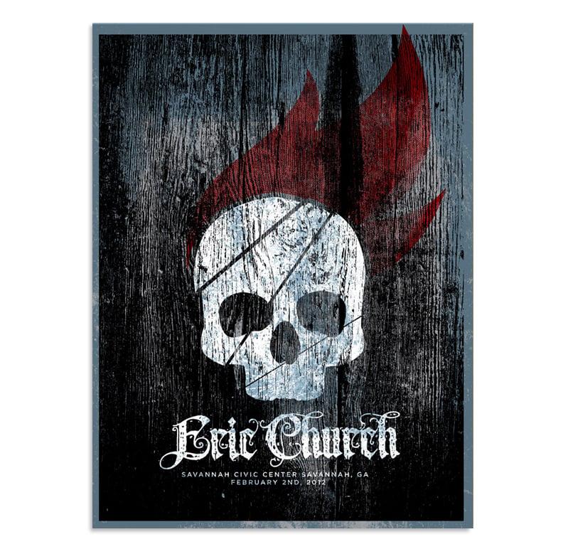 Eric Church: Savannah, GA Poster