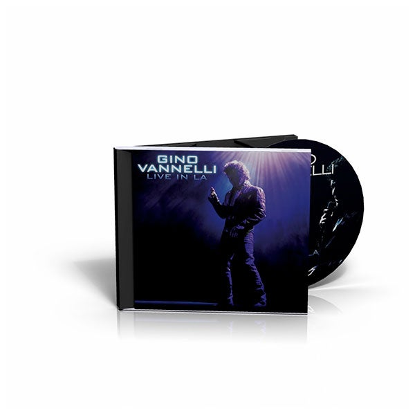 Image of Gino Vannelli - Live In LA - CD