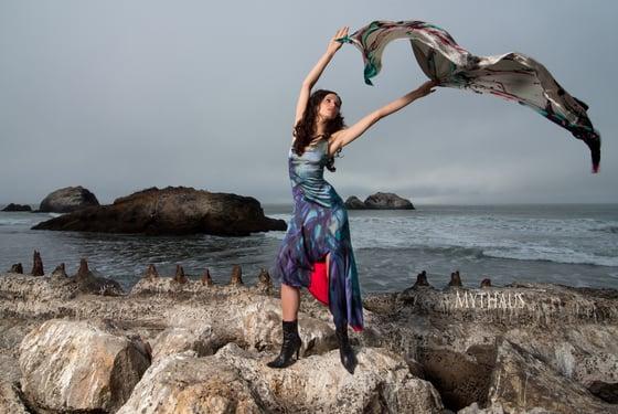 "Image of ""Awakening""  Silk Dress"