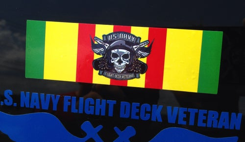 Image of Vietnam Veteran FDVG Decal, you get 5 stickers for $10.00