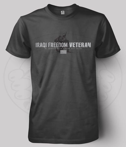 Image of IRAQI FREEDOM VETERAN T-Shirt