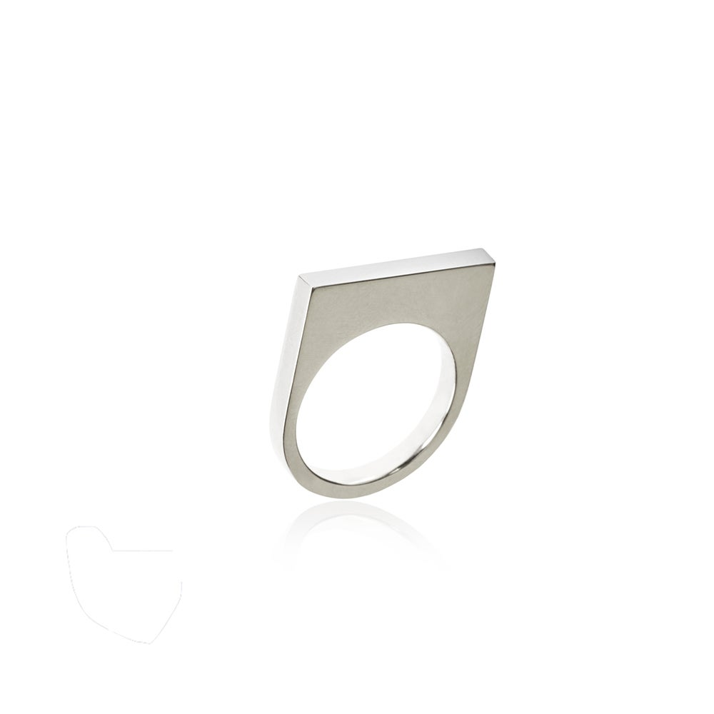 Image of High Ring in silver