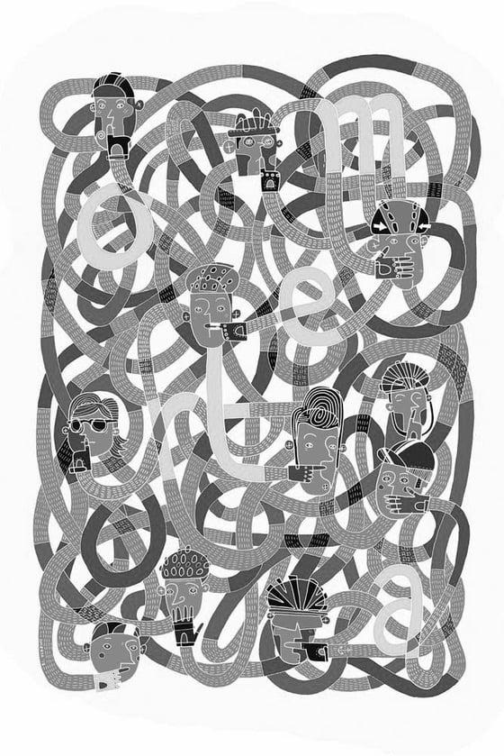 Image of The Omertà - screen print