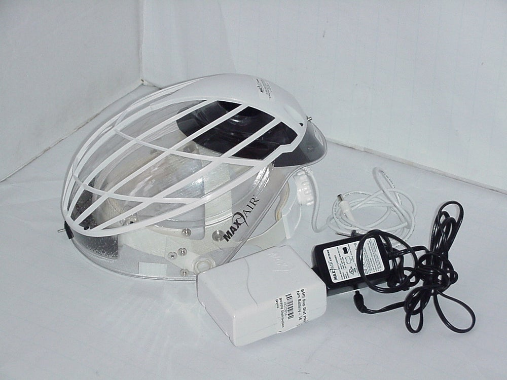 """Image of MaxAir CAPR Helmet, """"Filter Cage, and Blower Assembly"""" Powersupply"""