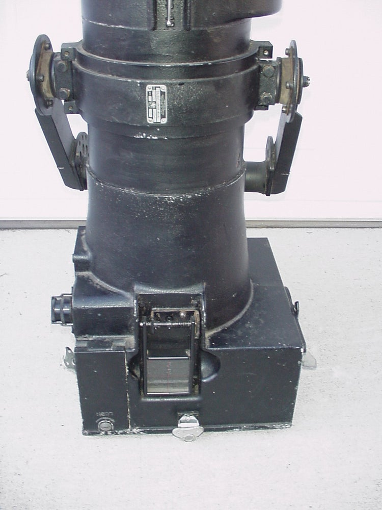 "Image of Vintage Fairchild F-56 Reconnaissance 48"" Military Arial Camera"