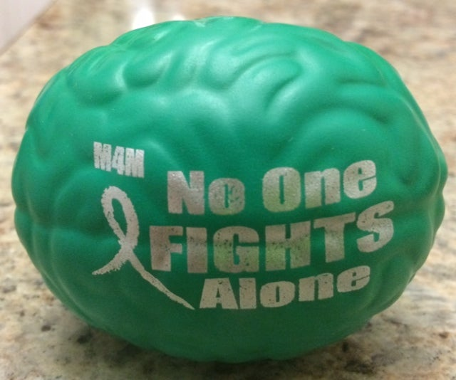 Image of No One Fights Alone Brain Stress Relievers