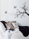 Vinyl Wall Sticker Decal Art - Spring Time - birds on branch