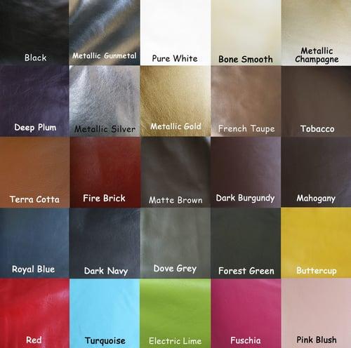 "Image of Leather Purse Strap Extender - 1/2"" (half-inch) Wide - Gold #16 Swivel Hook - Choose Color & Length"