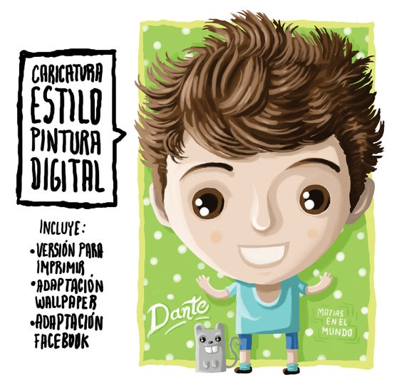 Image of Caricaturas estilo Pintura digital / digital paint cartoon