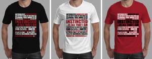 Image of Camiseta Masculina - Preta, Branca, Vermelha