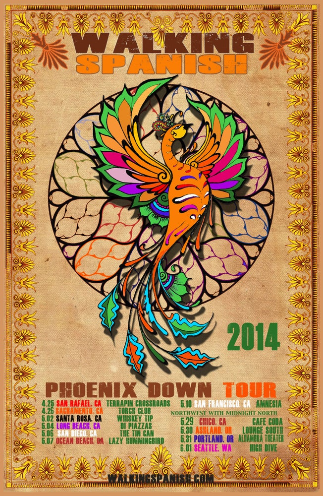 Image of 2014 Spring Tour Poster