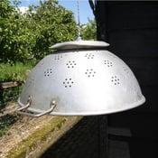 Image of X-Large Vintage Colander Lights