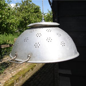 Image of X-Large Vintage Colander Lights