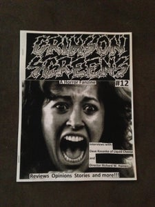 Image of Crimson Screens Fanzine #12- orders inside the US