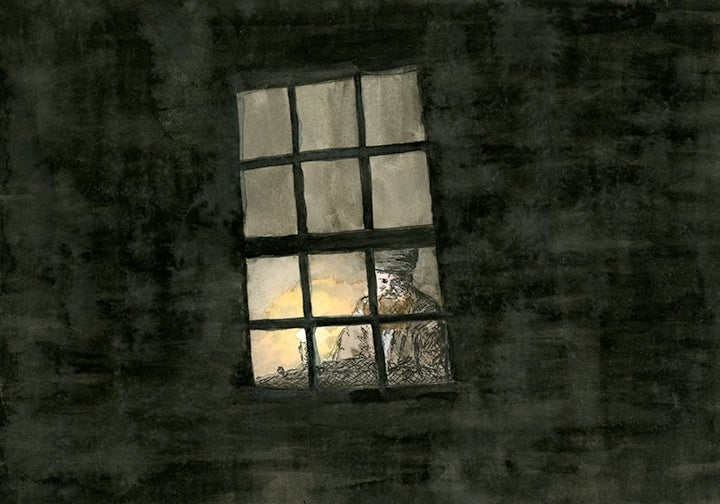Image of Alone in the window
