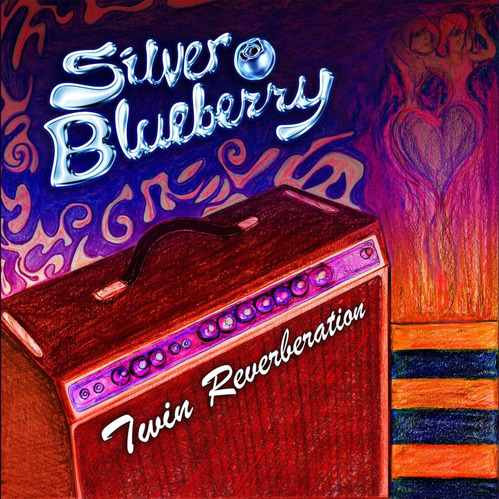 "Image of Silver Blueberry ""Twin Reverberation CD"""