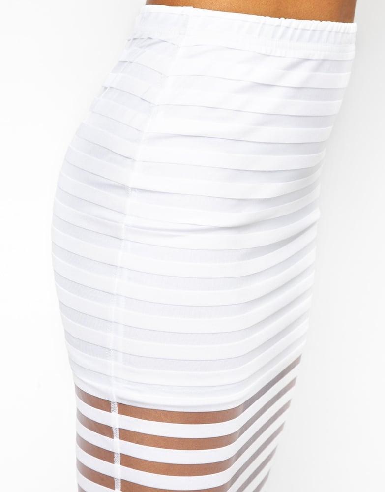 Image of White Lines Midi