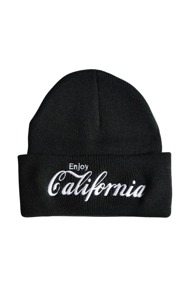 Image of Enjoy Cailfornia Black Beanie
