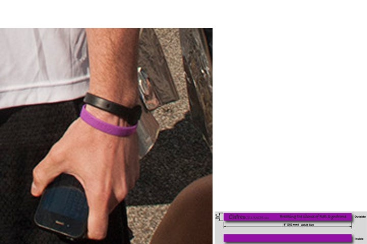 Image of Claire's Crusade Wristband
