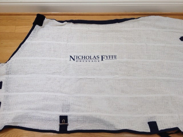 Image of Irish Knit Sheet With Custom Embroidery