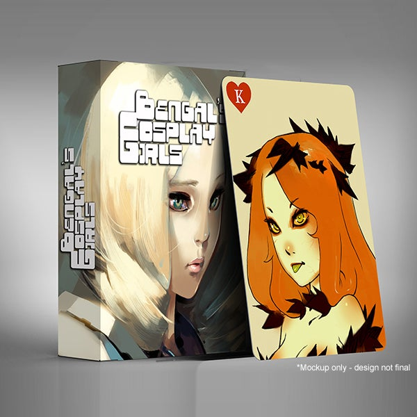 Image of BENGAL'S COSPLAY GIRLS Limited Edition Deck