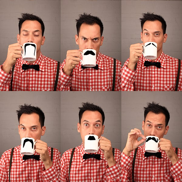 Image of Original Moustache Mug - Fu Magnum