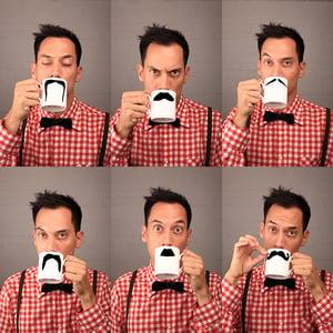 Image of Original Moustache Mug - Fu Magnum