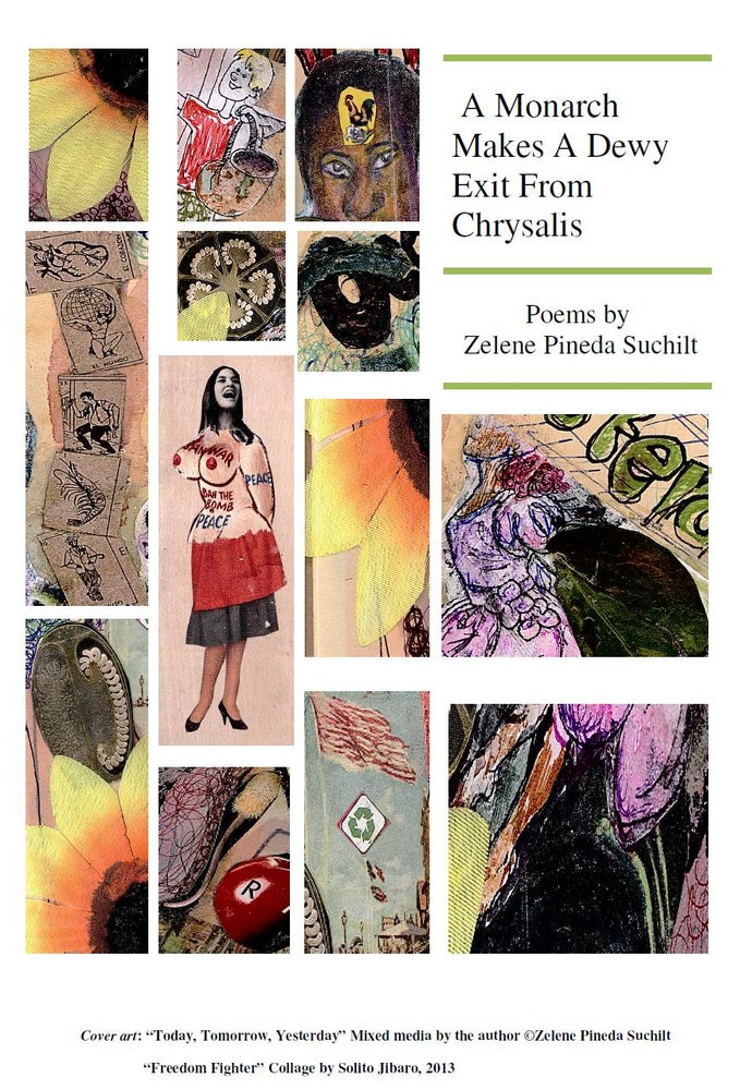 "Image of ""A Monarch Makes a Dewy Exit from a Chrysalis"" Chapbook"