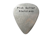 Image of Guitar Pick Stainless