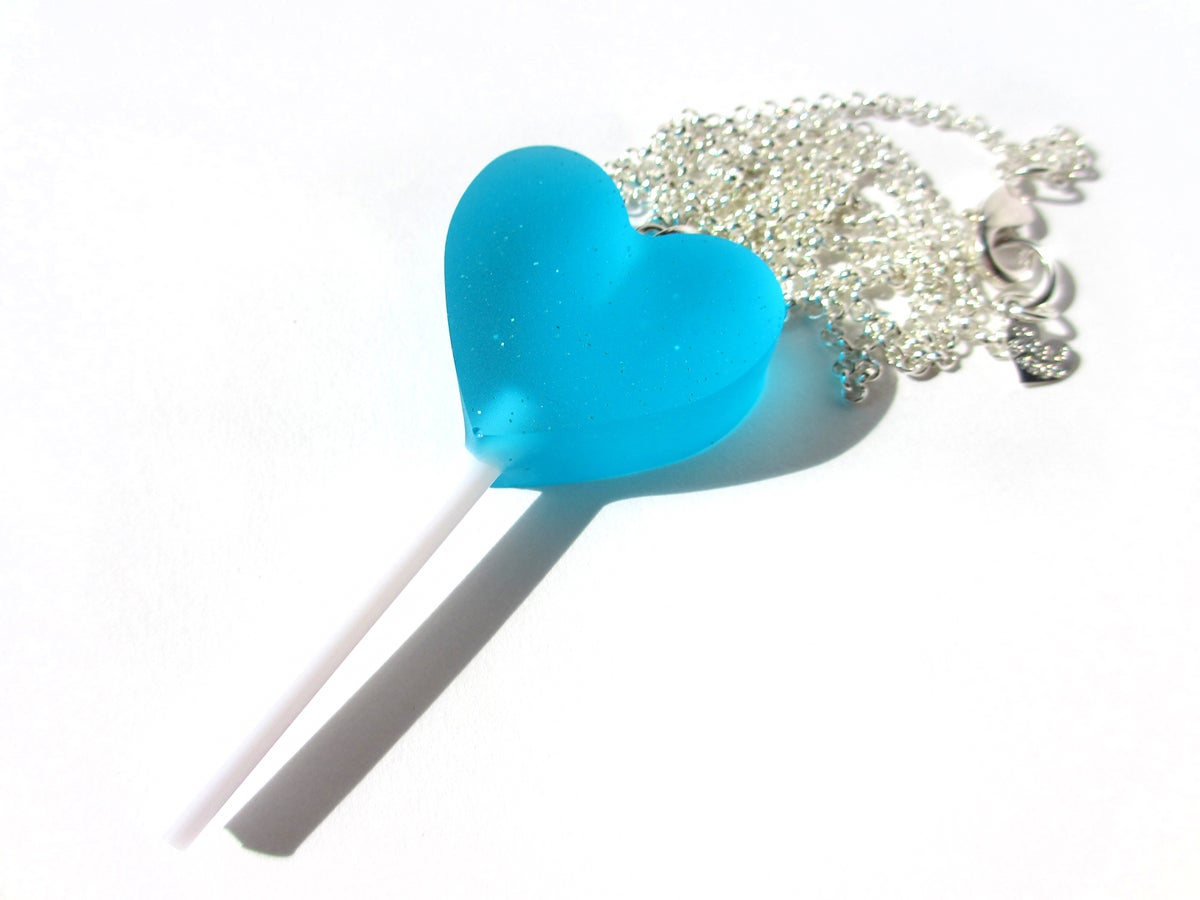 Image of Heart Lolly necklace