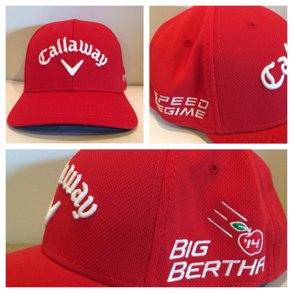 Image of Red Callaway Staff Pro Hat 20928cd8180