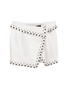 Image of Stella Studded Wrap Skirt