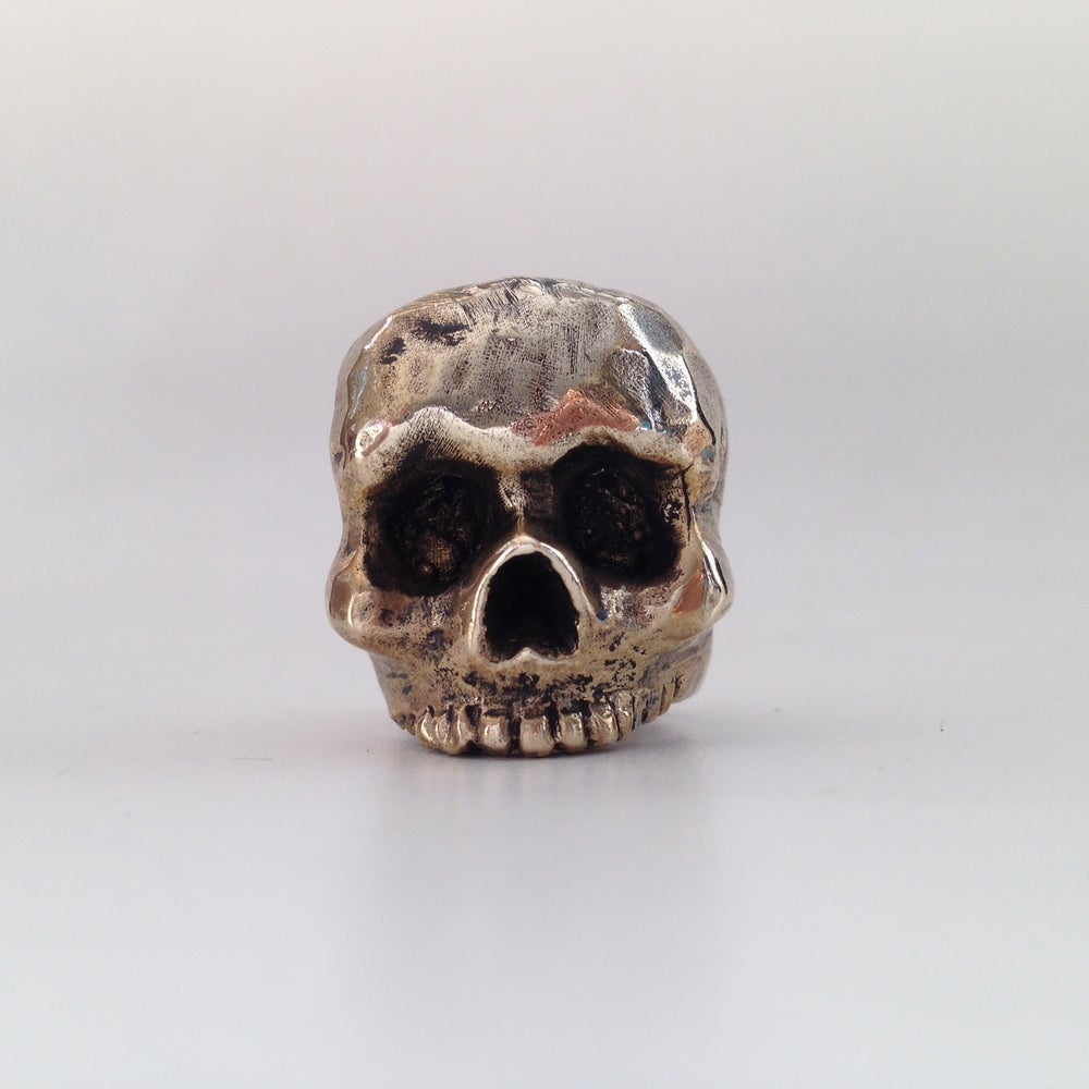 Image of The Lost In Time Skull Ring
