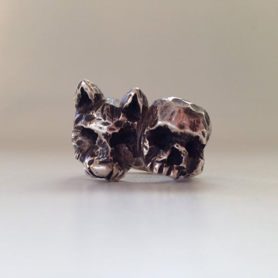 Image of The Wild Boy Skull Ring