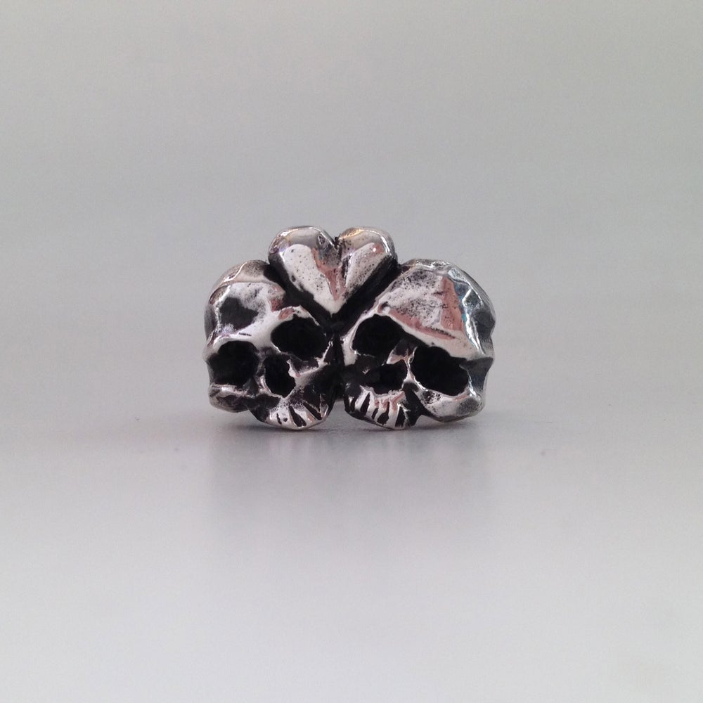 Image of Eternal Love Skull Ring