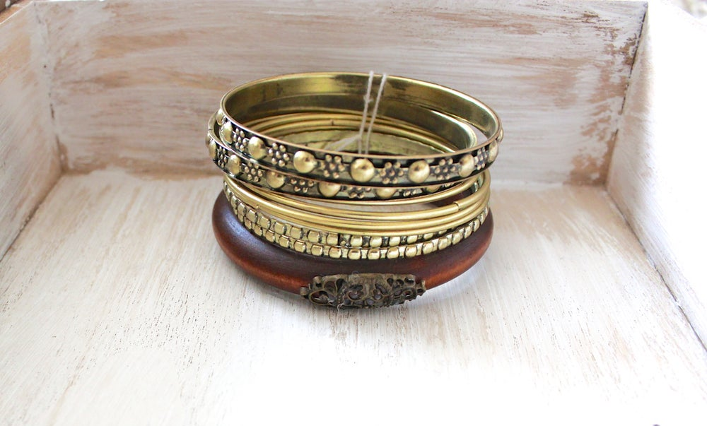 Image of Set of Bangles