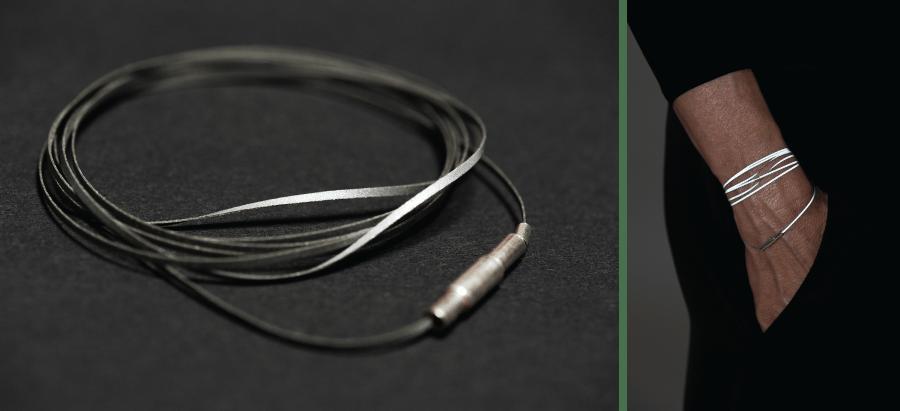 Image of Cylinder Magnet Bracelet 1.1
