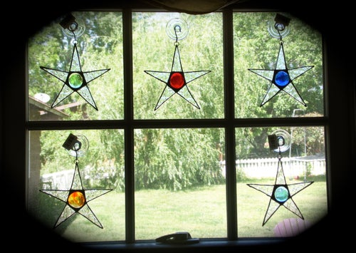 Image of Little Mini-stained glass