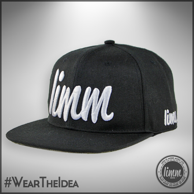 "Image of LIMM ""Revolution"" Snapback - Acrylic/Wool (Black)"