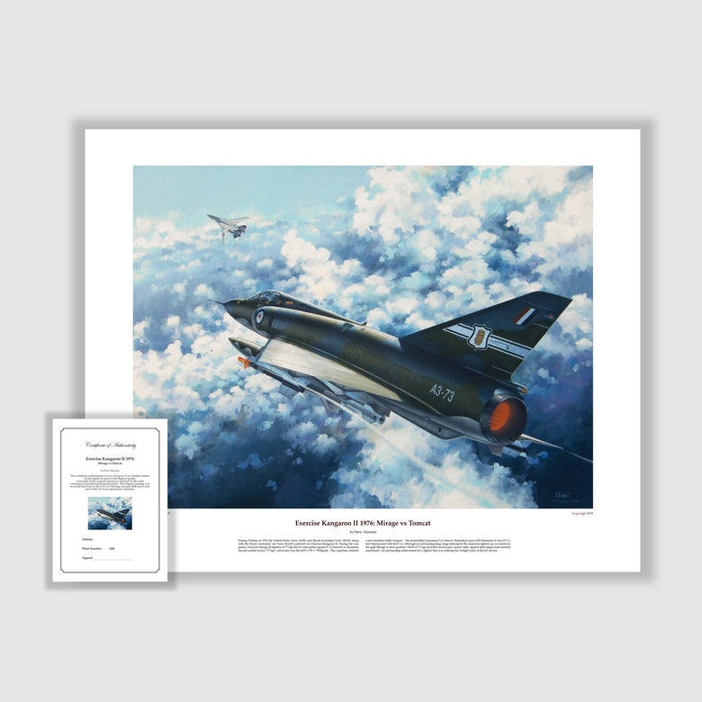 Image of Exercise Kangaroo II: Mirage vs Tomcat Print