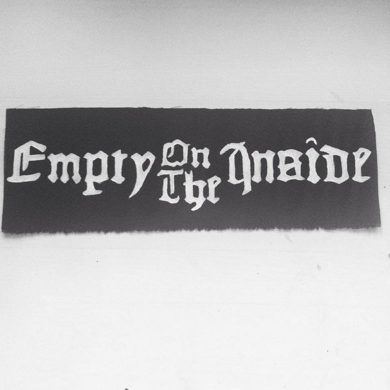 Image of Handpainted Logo Backpatch
