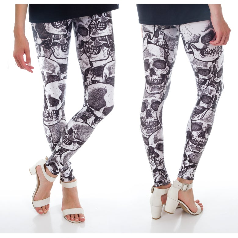 Image of Skull Leggings